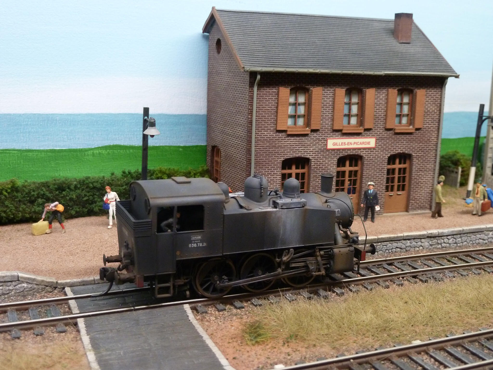 locomotive vapeur 030 TU Jouef REE HO patine